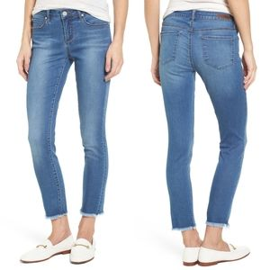 Articles of Society Frayed Carly Ankle Skinny Jean